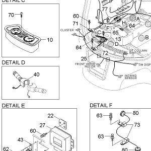 250D-7E Hyundai Parts